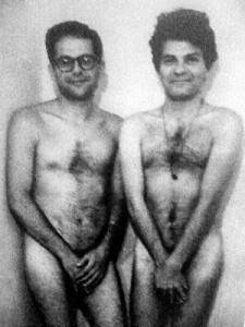 Alan Ginsberg and Gregory Corso
