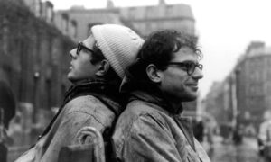 Peter Orlovsky & Allen Ginsberg - photo by Harold Chapman