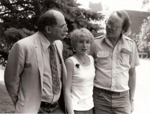Allen Ginsberg, Kit Knight & Arthur Knight, June 1980.