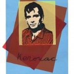 Kerouac Silkscreen, 1985