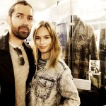 Director Michael Polish and Kate Bosworth