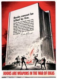 'Books Are Weapons' Poster