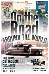 'On the Road Around the World' Poster