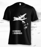 'Books Not Bombs' T-Shirt