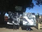 Jack Kerouac makes his way up Columbus Avenue, toward the Beat Museum...