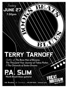 Books, Beats & Blues: Terry Tarnoff with P.A. Slim
