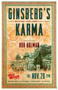 Ginsberg's Karma with Bob Holman