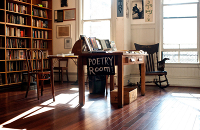 The Poetry Room at City Lights