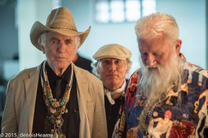 David Amram, Chris Felver, and Ron Turner