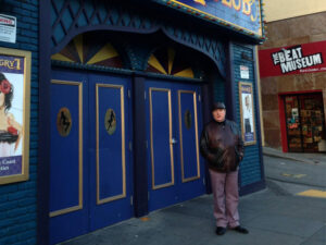 van morrison in front of the hungry i club