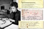 Bob Dylan Treasures, Including Lyric Notebooks