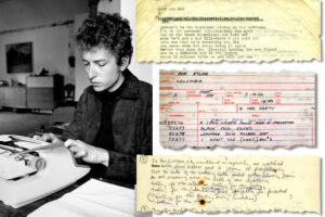 Bob Dylan (Douglas R. Gilbert, The New York Times)