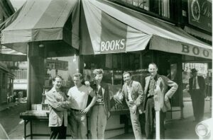 City Lights Books (Ferlinghetti is on the far right)