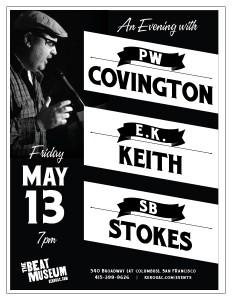 PW Covington / E.K. Keith / SB Stokes