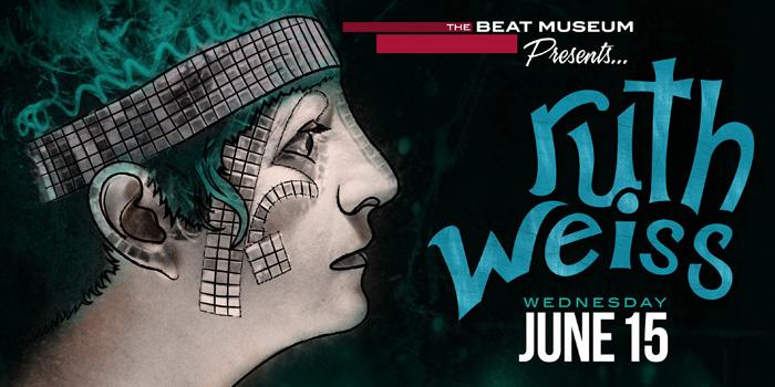 ruth weiss - June 15