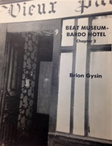 Beat Museum-Bardo Hotel by Brion Gysin