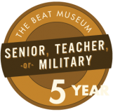 Senior, Teacher, or Military - 5 Years