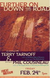 'Further On Down the Road' with Terry Tarnoff & Phil Cousineau