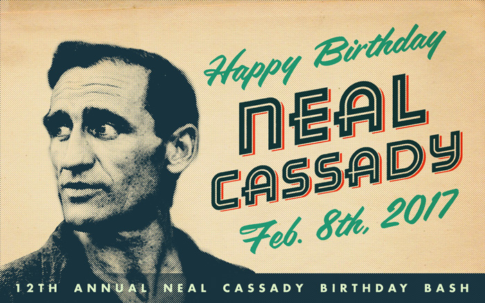 12th Annual Neal Cassady Birthday