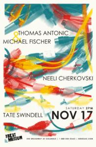 Thomas Antonic & Michael Fischer, Neeli Cherkovski, and Tate Swindell