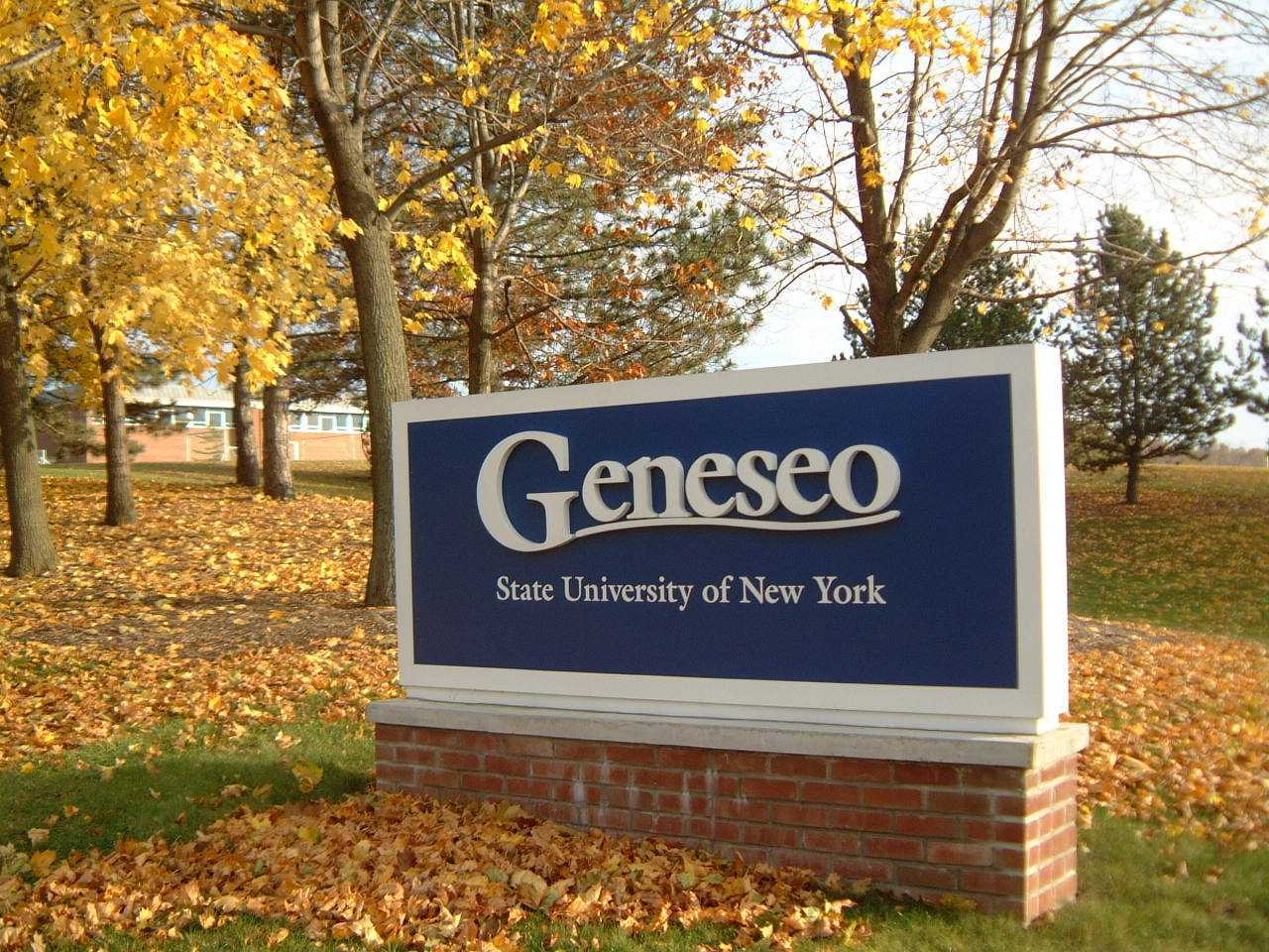 University of New York at Geneseo State
