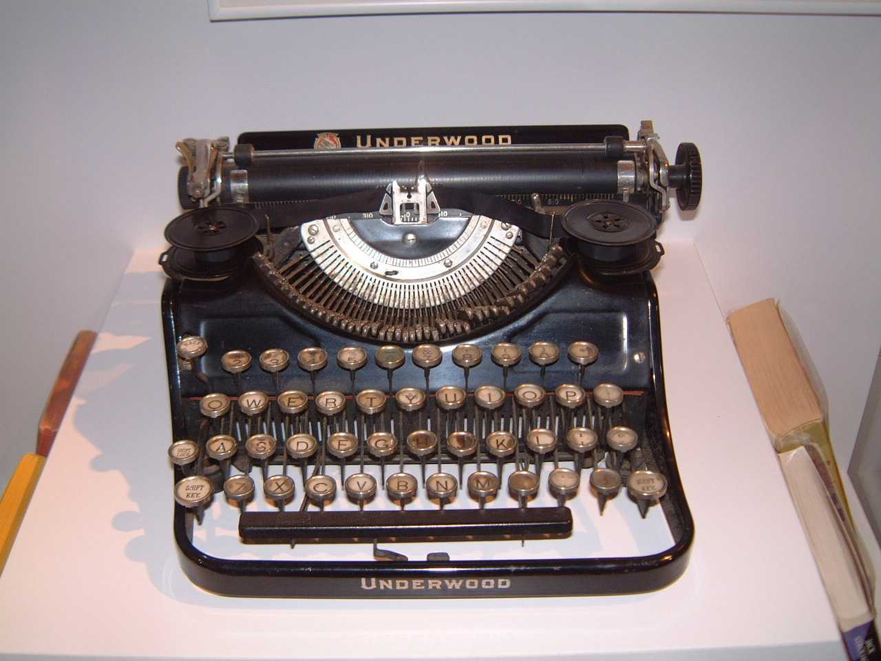 Jack Kerouac's typewriter, in Lowell, MA - Beat Museum on Wheels