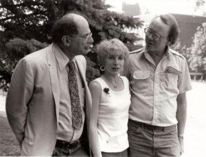 Allen Ginsberg, Kit Knight & Arthur Knight, June 1980.