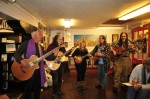 The Dharma Bums play last year's Kerouac Birthday party.
