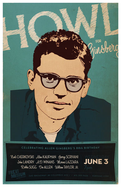 HOWL for Ginsberg - June 3, 2014