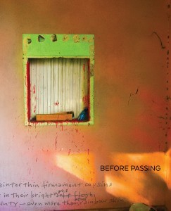 'Before Passing' Front Cover