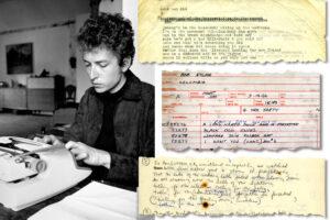 Bob Dylan (Douglas R. Gilbert, The New York Times)