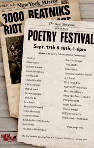 2016 Beat Museum Poetry Festival
