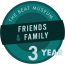 Friends & Family - 3 Years