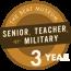 Senior, Teacher, or Military - 3 Years
