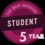 Student - 5 Years