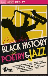 Celebrating Black History with Poetry & Jazz