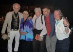 David Amram, Jamie Cassady Ratto, Al Hinkle, Levi Asher, and Brian Hassett