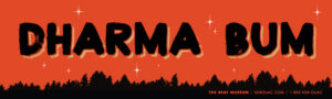 dharma bum sticker