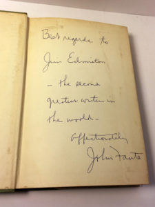 full of life john fante signed