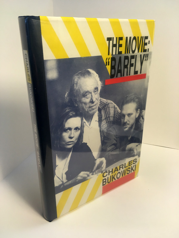 movie barfly signed first edition hardcover