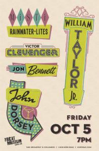 Mist Rainwater-Lites, Victor Clevenger, Jon Bennett, John Dorsey, & William Taylor, Jr.