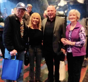 John Allen Cassady, Estelle and Jerry Cimino, and Cathy Cassady