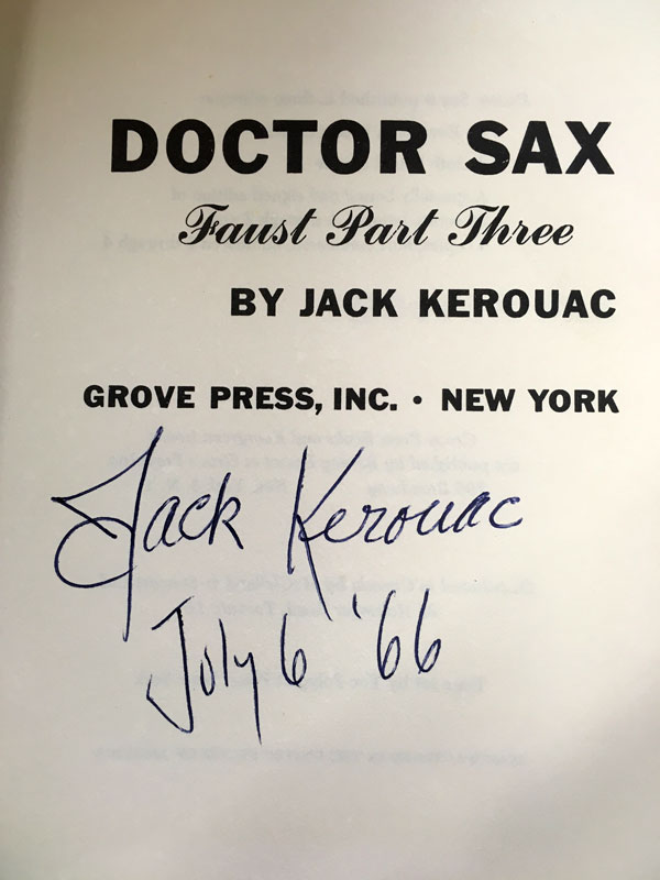 signed doctor sax