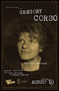 Gregory Corso: The Gold Standard