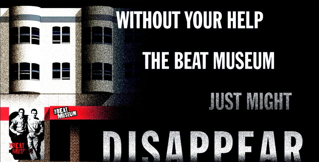 Without Your Help, the Beat Museum Just Might Disappear