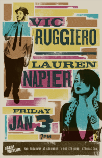 Vic Ruggiero + Lauren Napier