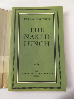 The Naked Lunch (1959) First Edition - Front Cover without Dust Jacket