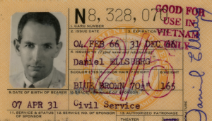 Daniel Ellsberg Vietnam ID