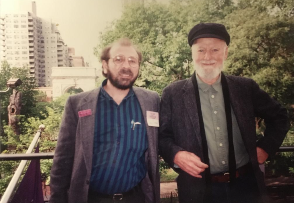 Me and Lawrence, May 1994