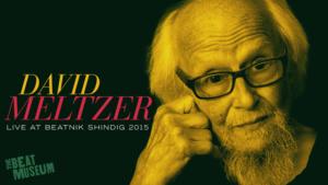 David Meltzer at Beatnik Shindig 2015